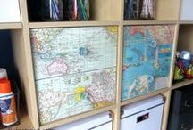 Upcycling and recycling / Upcycling, recycling, upcycling and recycling, DIY, recycle, creative living, living creatively, living a creative life, do it yourself, homemade furniture, homemade style, recycle old furniture, go green, green living, crafts, DIY and crafts,