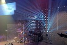 Church Stage Ideas / by Isaac Lee