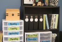 Classroom Organization / An organized classroom makes learning fun and enjoyable for both teachers and students. Here's some of my favorite organizing tips and hacks suitable for any classroom!