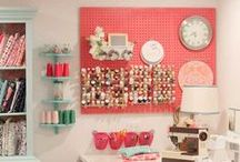 Craft Room Ideas / This board is full of inspiration for that creative space in your house that you can dedicate to all things craft!