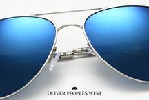 OP West / Introducing a new line designed specifically for a more casual style. / by Oliver Peoples