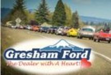 Contribute to the Community / It's the people who make Gresham Ford a better and different car dealership.  We want everyone to know how much we appreciate our staff and the wonderful things they do to go above and beyond.