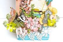 Graphic 45 Deluxe Collector's Edition - Once Upon a Springtime / The Once Upon a Springtime Papercrafting Kit from the fabulous Graphic 45 features mystical and fairytale themed designs in a range of stunning colours. Suitable for a whole host of projects and occasions, these designs are perfect adding a vintage touch to your crafts! Grab your own beautiful kit at www.createandcraft.tv / by Create & Craft