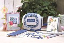 Spellbinders Sapphire / The Spellbinders Sapphire, is an innovative die cutting and embossing machine, which is easy to use and portable. The Sapphire can help you to make a range of gorgeous crafting projects, such as scrapbooking, cardmaking, mini albums and so much more!  Check it out now at www.createandcraft.tv/sapphire