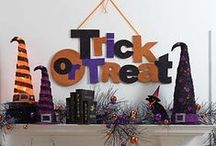 Halloween Party Ideas / Get your house and spread table fully kitted out for lots of Halloween fun with these spooky ideas!