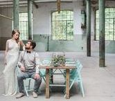 Wedding Inspiration Shoot: Geometrie meets Industrial Chic - Wollfabrik Moselkern
