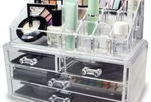 3 Display Acrylic & Other Organizers For Makeup / This covers both purchased units and ones that can be made AKA DIY projects.