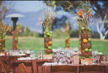 wedding ceremony/reception decor