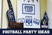 | football party | / by Lauren Sealy