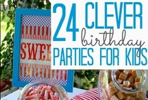 Kids Parties: Party Time / Planning a party? We found TONS of inspiration for that! Parties bring friends and family together and make childhood magical.