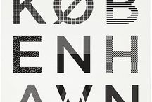 Graphy/Typographie/Typografi