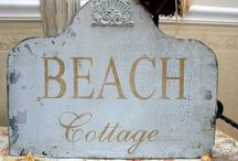 BEACH COTTAGE ❤️ / I love the ocean... Someday I will have my beach cottage.