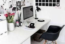 Office/ Studio Beauty / For my future art studio / office space.