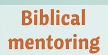 """For Mentoring / At Kindred Grace, we value the responsibility of older women to instruct and encourage the younger as expressed in Scripture, and believe that all women are an """"older woman"""" to someone."""