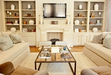 home--built ins / by Kristie Marshall