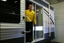 Hampton Park Models / A get-away is great, but home is more than a place. Home is peace of mind. That's what Hampton destination trailers from Crossroads offer. Peace of mind is valuable. Hampton park models were designed with your comfort in mind. / by Petes RvCenter