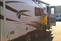Passport Express Travel Trailers / Today's popular mid-size and cross-over vehicles with smaller tow ratings are a perfect fit for the all new Express Super Lite by Keystone.  / by Petes RvCenter