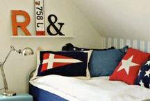 LASTENHUONEET KID´S ROOMS / Lastenhuoneet Poikien huoneet Lastenhuoneideoita Ideas for kids rooms Kids rooms Boy's rooms Sea side style merellinen tyyli