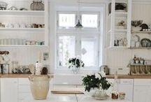 KEITTIÖT JA RUOKAILUTILAT / Kitchens, keittiö, keittiöitä, valkoinen keittiö, maalaiskeittiö, IKEA keittiö