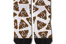 Crazy socks.
