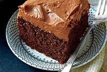 Recipes: Desserts - Cakes, Frostings, and Brownies