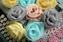 Crafting -  Handmade Flowers / by Cheryl Johnson