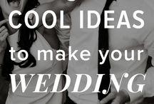 Wedding/Special Day / Variety of wedding ideas.