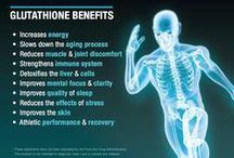 Glutathione Health Benefits / Understanding the health benefits of #glutathione is essential to living a healthy lifestyle. Glutathione is our body's master #antioxidant, protecting our trillions of cells. GSH information includes health benefits, glutathione supplements and the safest way to keep your glutathione levels at their optimum. #GlutathioneSupplement, #HealthBenefits