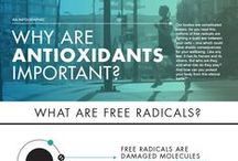 Antioxidant Health Benefits and Information / Health benefits and Information pertaining to powerful antioxidants. Eliminate free radicals from your body with antioxdiants, protecting cellular health. Learn best sources of antioxidants. #antioxidants
