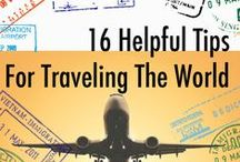 Tips for Travelling the World / See the world in all it's beauty without breaking the bank! Travelling tips from around the world. Cheap flights, rooms and way to save money so you can enjoy all the world have to offer. #travel #traveltips #vacation