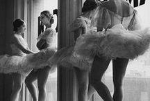 ballet in black & white / dance, ballerina, pointe, black and white photography / by Lynnette212