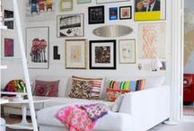 Rosy living space