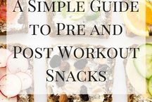 Workout Snacks and Food / Workout snacks, protein bites and proper hydration habits for a healthy you. #workouts, #workoutsnacks