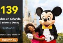 Ofertas Disney World / Ofertas de Entradas y Paquetes de Viaje a Disney World...