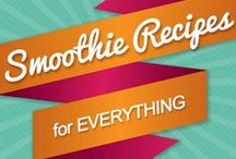 Smoothies / Everything you need for smoothies! From the best smoothie recipes on Pinterest to the best way to make a smoothie, it's all here. #smoothie #smoothies #drink #recipes