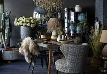 Botanical / One of this season's biggest trends, it's time to go large with indoor plants and botanical themes.