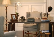 Home Work / Offices, dens and library work spaces  / by DTM Interiors ~designed to move~