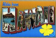 """_State: Hawai'i / Hawaiʻi joined the Union on August 21, 1959), and is the only U.S. state made up entirely of islands. It is the northernmost island group in Polynesia, occupying most of an archipelago in the central Pacific Ocean. Due to its mid-Pacific location, Hawaii has many North American and Asian influences along with its own vibrant native culture. The eight """"main islands"""" are Niʻihau, Kauaʻi, Oʻahu, Molokaʻi, Lānaʻi, Kahoʻolawe, Maui and the island of Hawai'i. / by Jack Frost"""