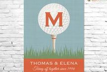 For Golfers / Great gifts, accessories and goodies for golfers! / by Stitchwerx Designs
