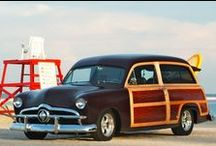 Vehicles: U.S.A. Woodies and Wood Paneling