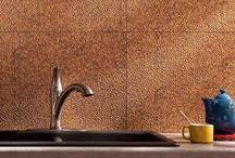 Metallic Influences / Interior design and art