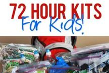 Food Storage & Disaster Preparation / Emergency preparedness and how to create emergency kits.
