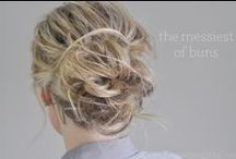 Style :: Hair Inspiration / Hair tips and tutorials.