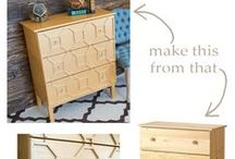 DIY :: Furniture / Create your own furniture and unique pieces with these DIY furniture tips.