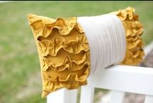 Sewing :: Pillows / Creative pillow sewing projects.