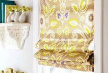 Sewing :: Curtains / DIY curtain patterns that you can sew yourself.