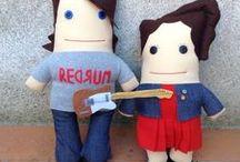 Muñecos sapo personalizados / muñecos molones de 40 cms hechos a partir de una foto