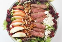 Recipes:: Salad / Homemade salad recipes. / by Simply Designing {Ashley Phipps}