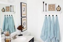Decorate :: Bathroom / Don't forget about the bathroom. Make the bathroom look cute with this decoration inspiration.  / by Simply Designing {Ashley Phipps}