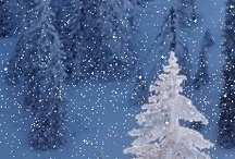 WINTER TIME/ Christmas / We very rarely get Snow and long winters in Dallas ..so I love and appreciate it all the more.....And LOVE CHRISTMAS and the Holiday Season / by Denise Thompson